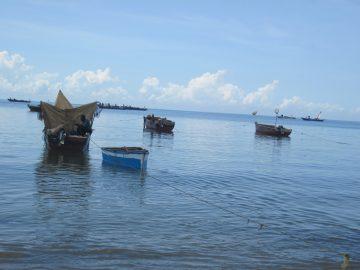 Bagamoyo, Tanzania, small-scale fishers, April 2014